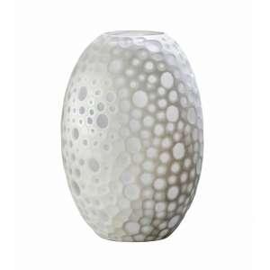 Vase 24,5x22,5x38 cm weiß