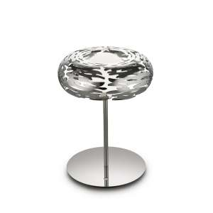 Tischleuchte LED 28,5 cm Edelstahl