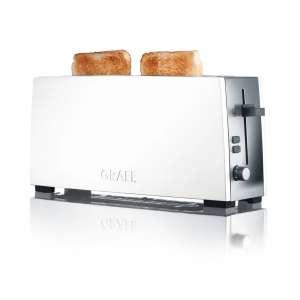 Toaster TO 91 Langschlitztoaster weiß matt