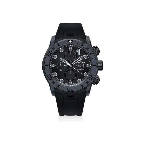Armbanduhr CO-1 Chronograph Automatik Carbon grau