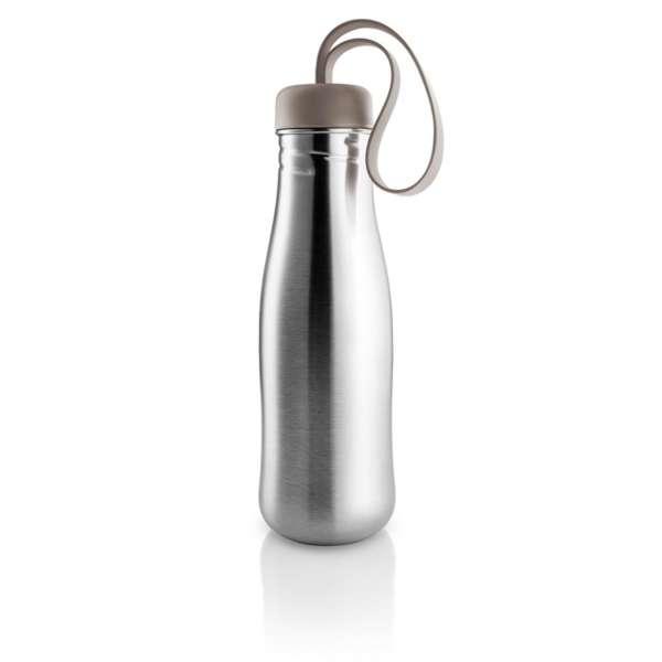 Trinkflasche 0,70 l warm grey