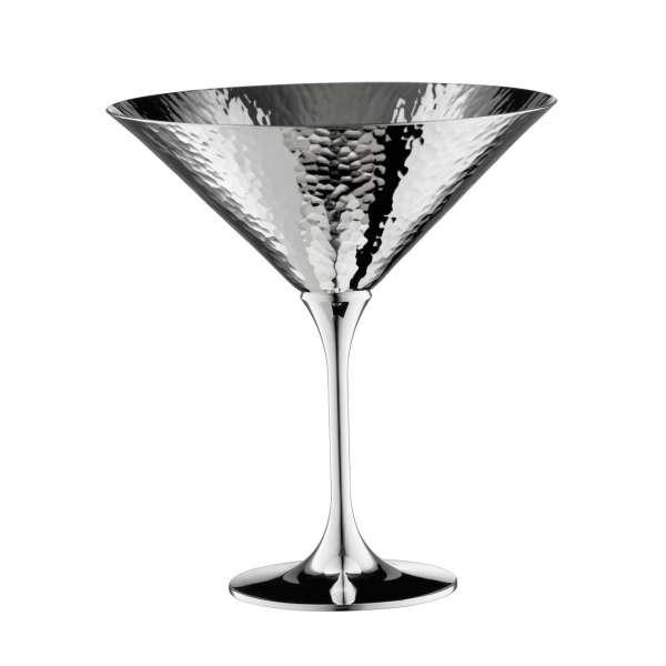 Cocktailschale versilbert