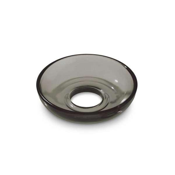 Glasmanschette schalenförmig rauch