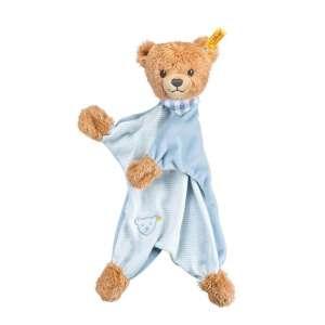 Schmusetuch Bär Schlaf Gut 30 cm, blau