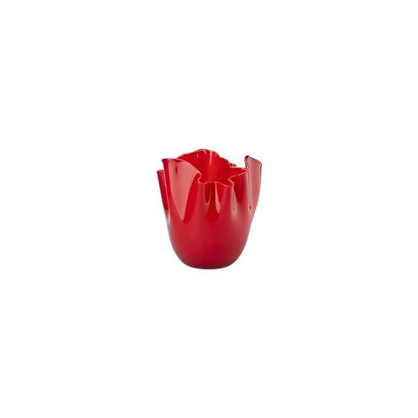 Vase 13,5 cm rot