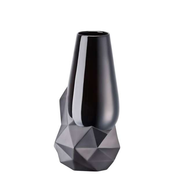 Vase 27 cm schwarz