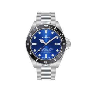 Armbanduhr Sky Diver Automatik blau