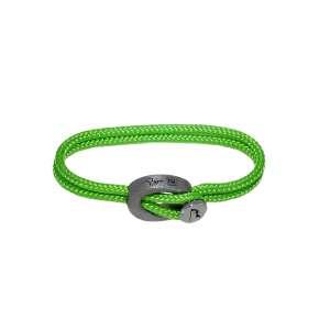 Armband Neon Green Humanium metal XL