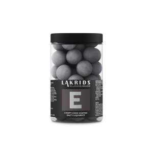 E - Salziger Lakritz in knuspriger Schokohülle 250 g