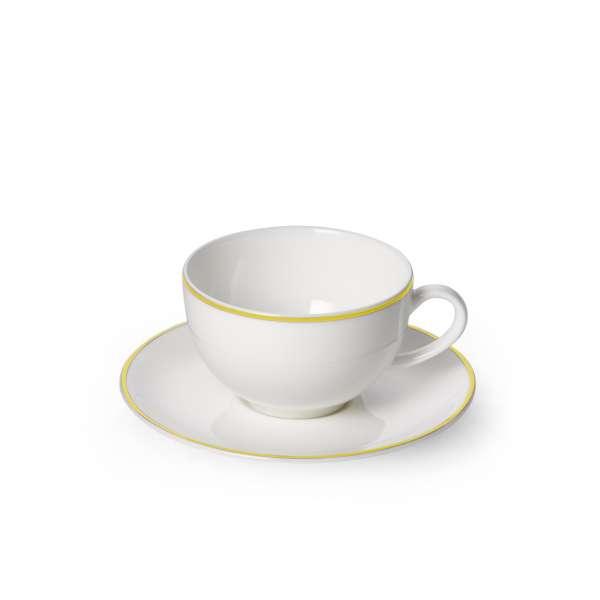 Kaffeetasse m. U. rund 0,25 l gelb
