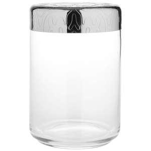 Dose 1,00 l/15,8 cm Edelstahl/Glas