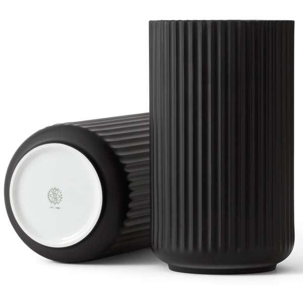 Vase 38 cm schwarz