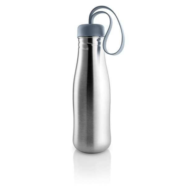 Trinkflasche 0,70 l steel blue