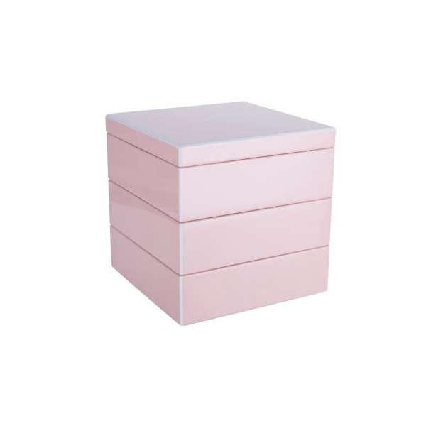 Schmuckbox stapelbar blush