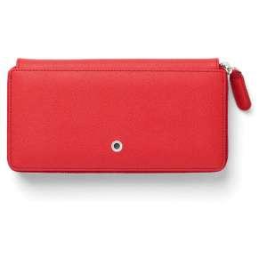 Damenbörse Reißver. India Red