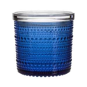 Dose m. Deckel 11,6x11,4 cm ultramarin blau