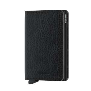 Slimwallet Vegetable Tanned black