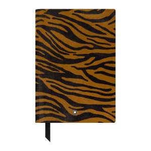 Notizbuch #146 blanko, Animal Print Tiger