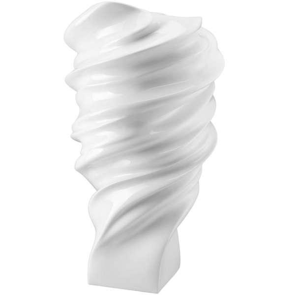 Vase 40 cm weiß