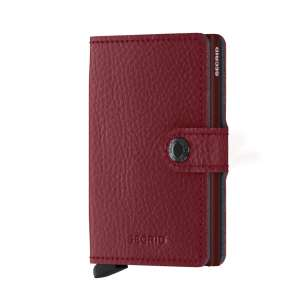 Miniwallet Vegetable Tanned rosso