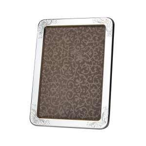 Bilderrahmen Blattdekor 10x15 cm Sterlingsilber