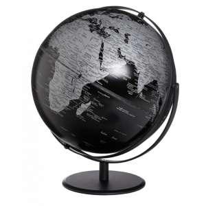 Globus matt schwarz