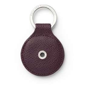 Schlüsselanhänger rund violet blue