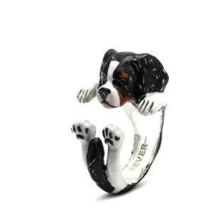 Ring Cavalier King Charles Spaniel Sterlingsilber 925M