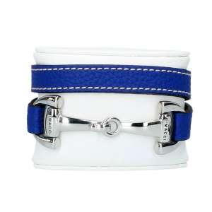 Armband Edelstahl, royalblau