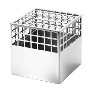 Vase Cube 12,7 cm Edelstahl