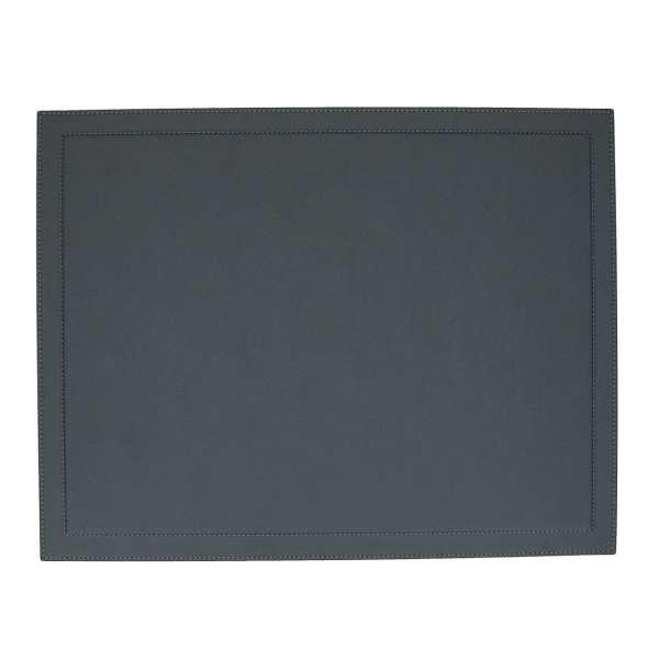 Schreibtischauflage 38,5x50 cm Golf graphite, Naht graphite