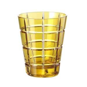 Universalglas 0,33 l goldamber squares