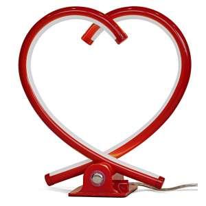 Herztischleuchte rot