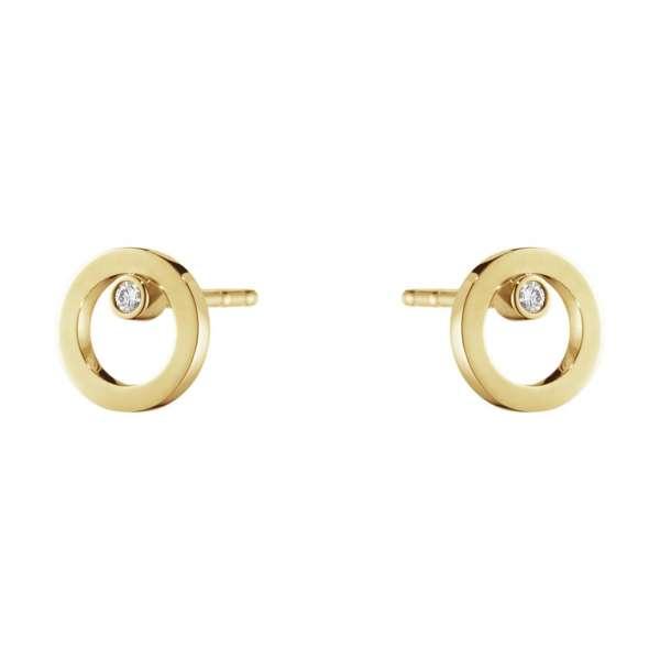 Ohrstecker Brillanten 0,03 ct Gelbgold 750
