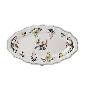Platte oval 36x21,3 cm