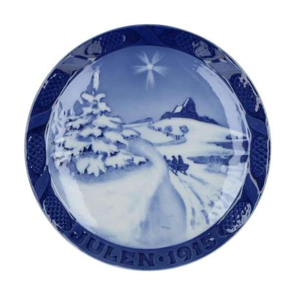 Weihnachtsteller 1915, 18 cm