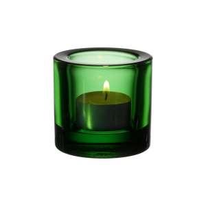 Windlicht 6 cm grün
