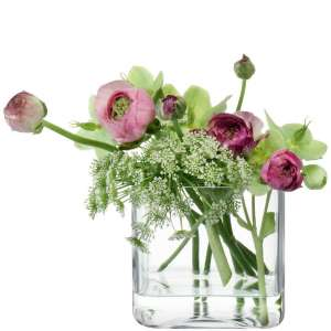 Vase 10 cm klar