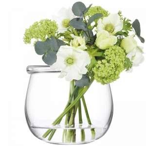Vase 15 cm klar