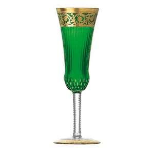 Champagnerflöte grün