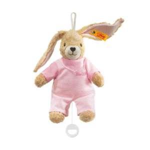 Spieluhr Hoppel Hase 20 cm, rosa