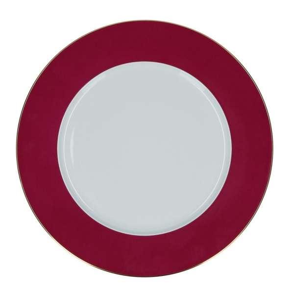 Platzteller purpur 32 cm