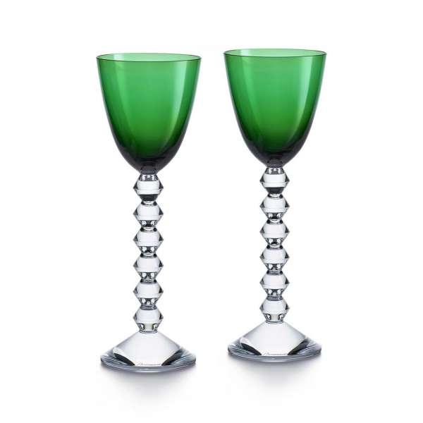 Rheinweinglas smaragdgrün (2 Stk.)