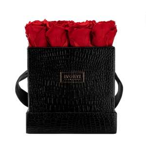 Flowerbox large, romantic red