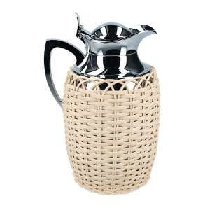 Isolierkanne 1,00 l, Rattan natural
