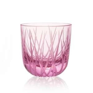 Glas Grass 0,2 l pink