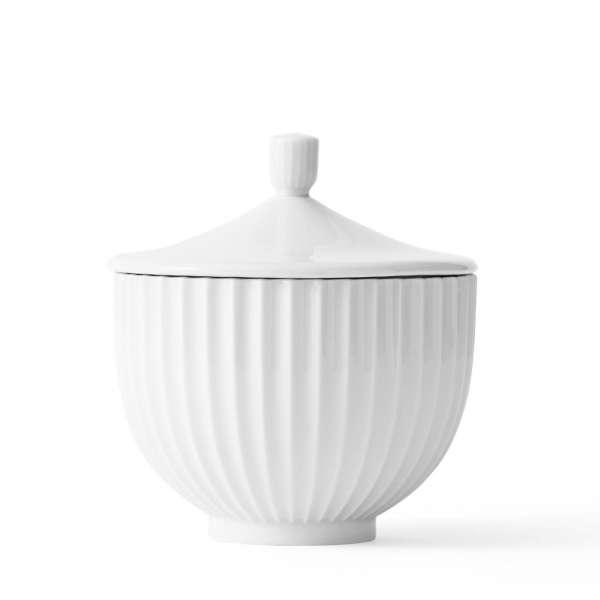 Bonbonniere 14 cm weiß