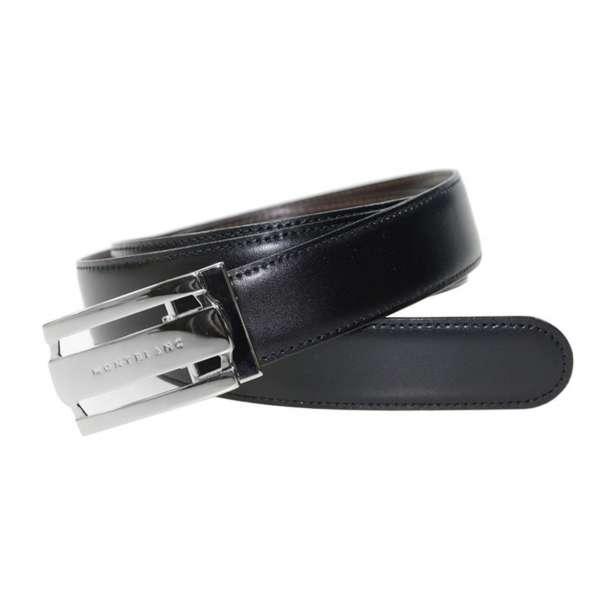 Wendegürtel schwarz/braun