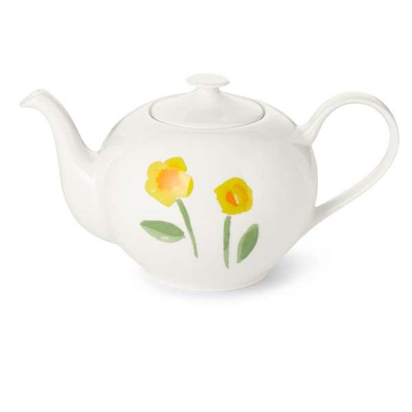 Teekanne rund 1,30 l gelb