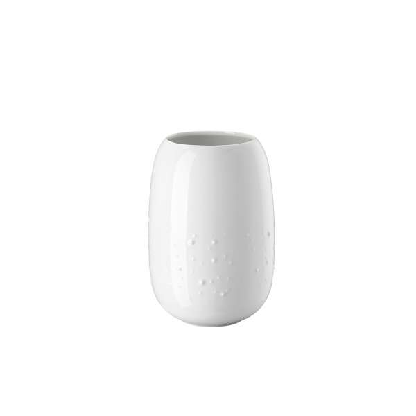 Vase Droplets 20 cm weiß